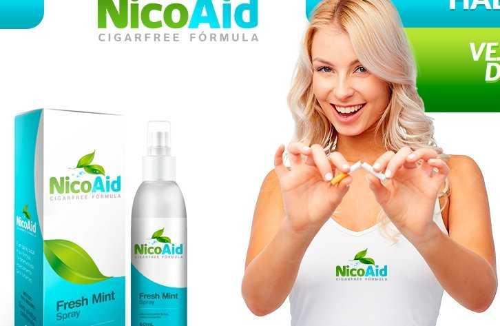 NicoAid - Cigarfree Fórmula